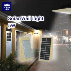 Solar Wall Mounted Light 5w