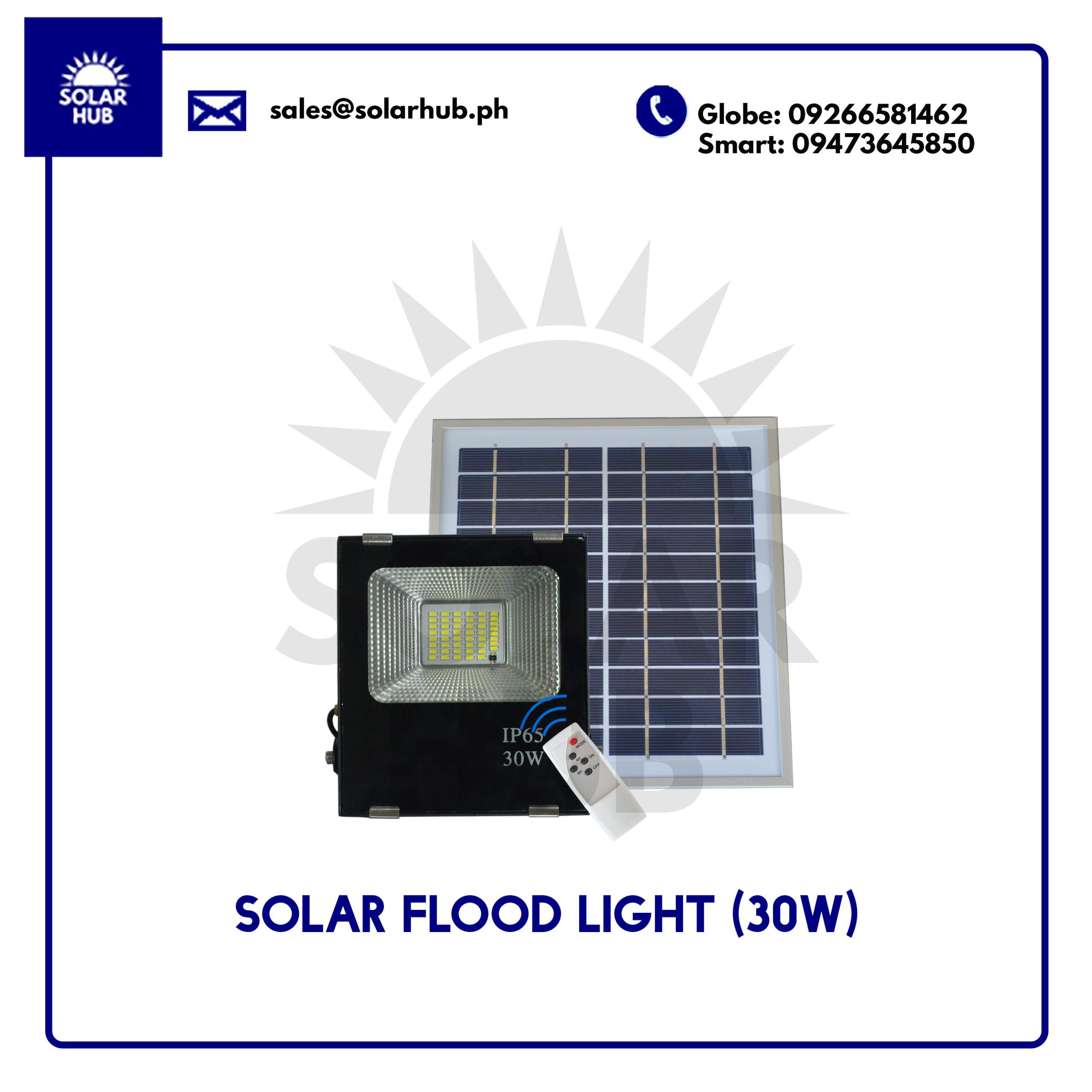 Solar Flood Light 30w