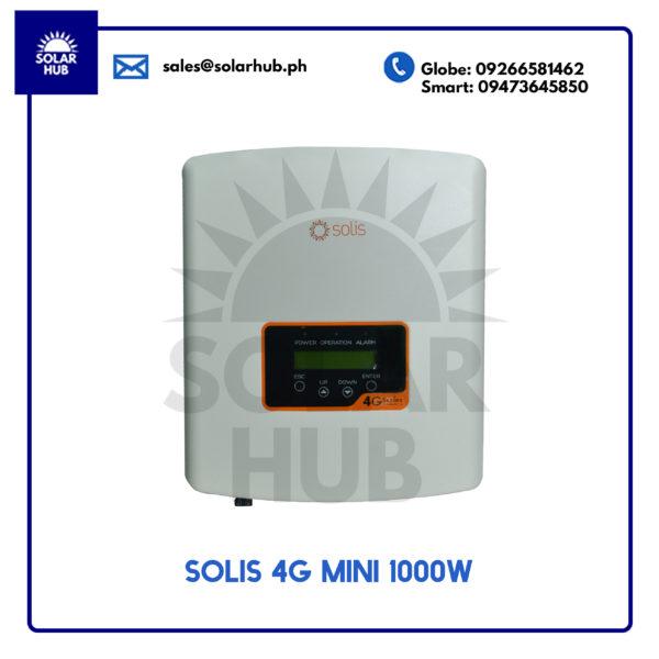 Solis 4G Mini 1000w Inverter