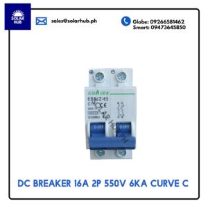 DC Miniature Circuit Breaker 16A