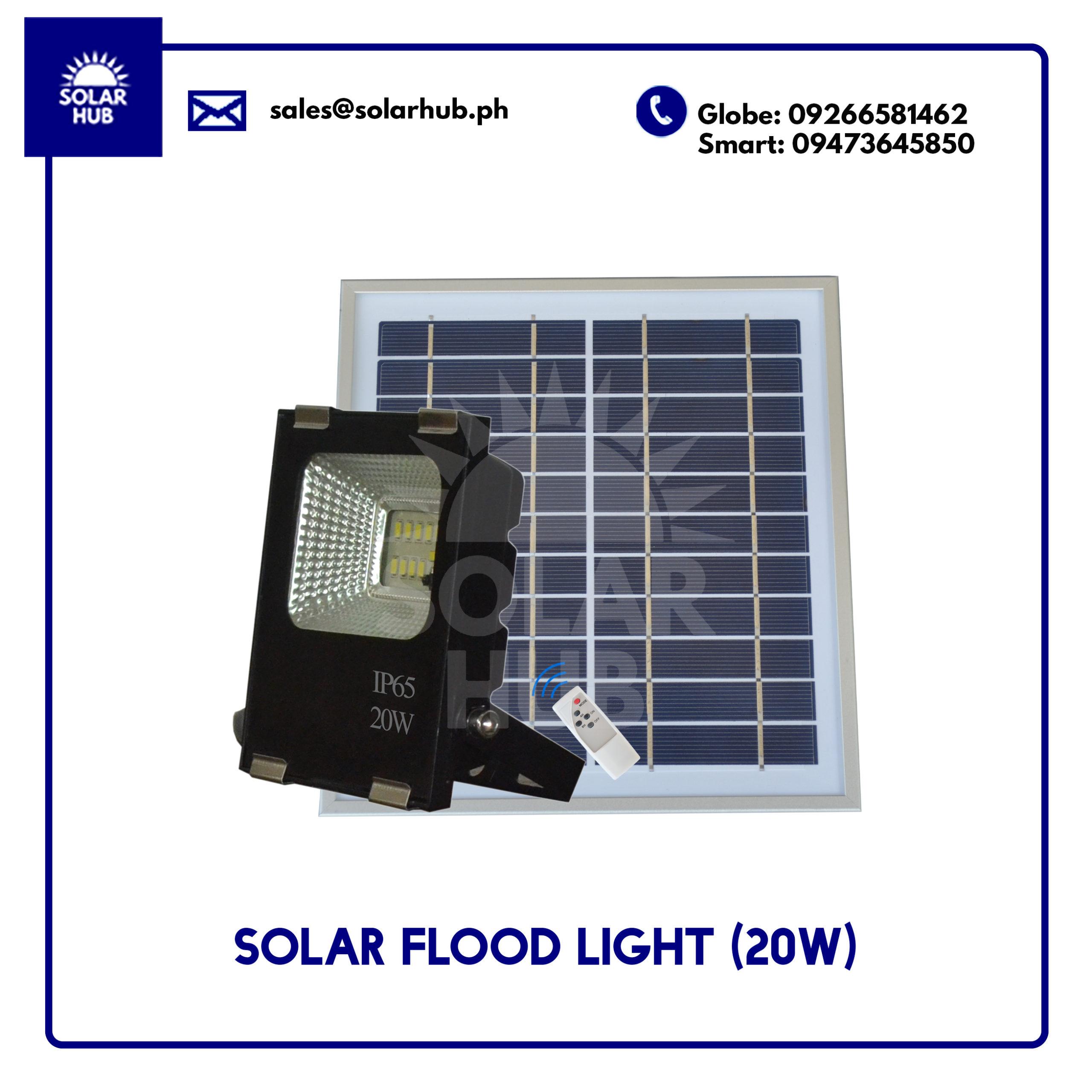 Solar Flood Light 20W IP65