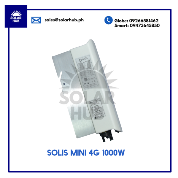 SOLIS MINI 4G 1000W OTHER SIDE