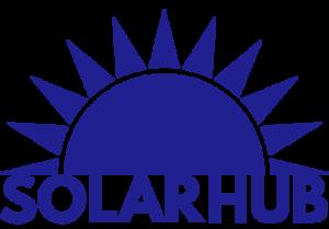 Solar Hub Logo Website Footer