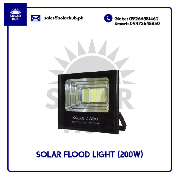 Solar Flood Light 200W