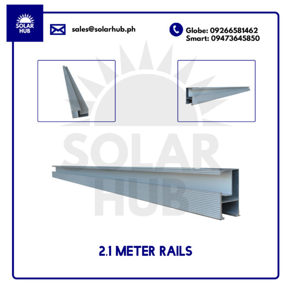 Goomax Rail Mounting Structure Solar Panel Frame