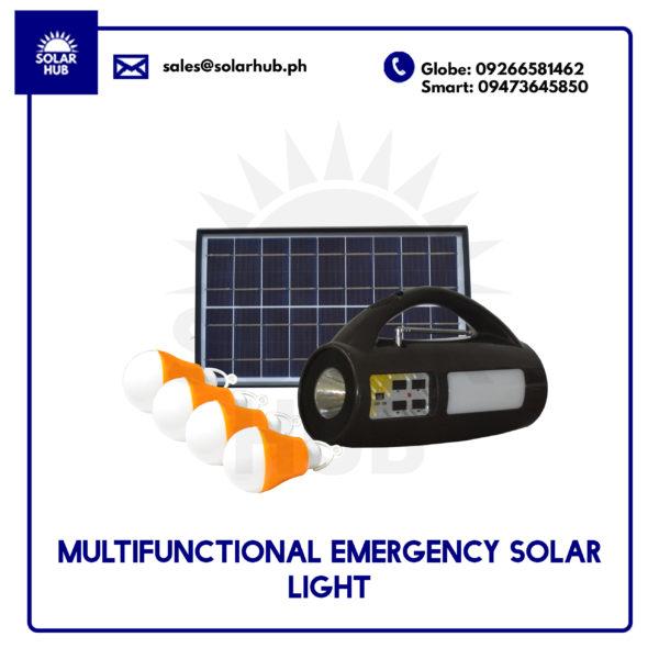 Multifunctional Emergency Solar Light