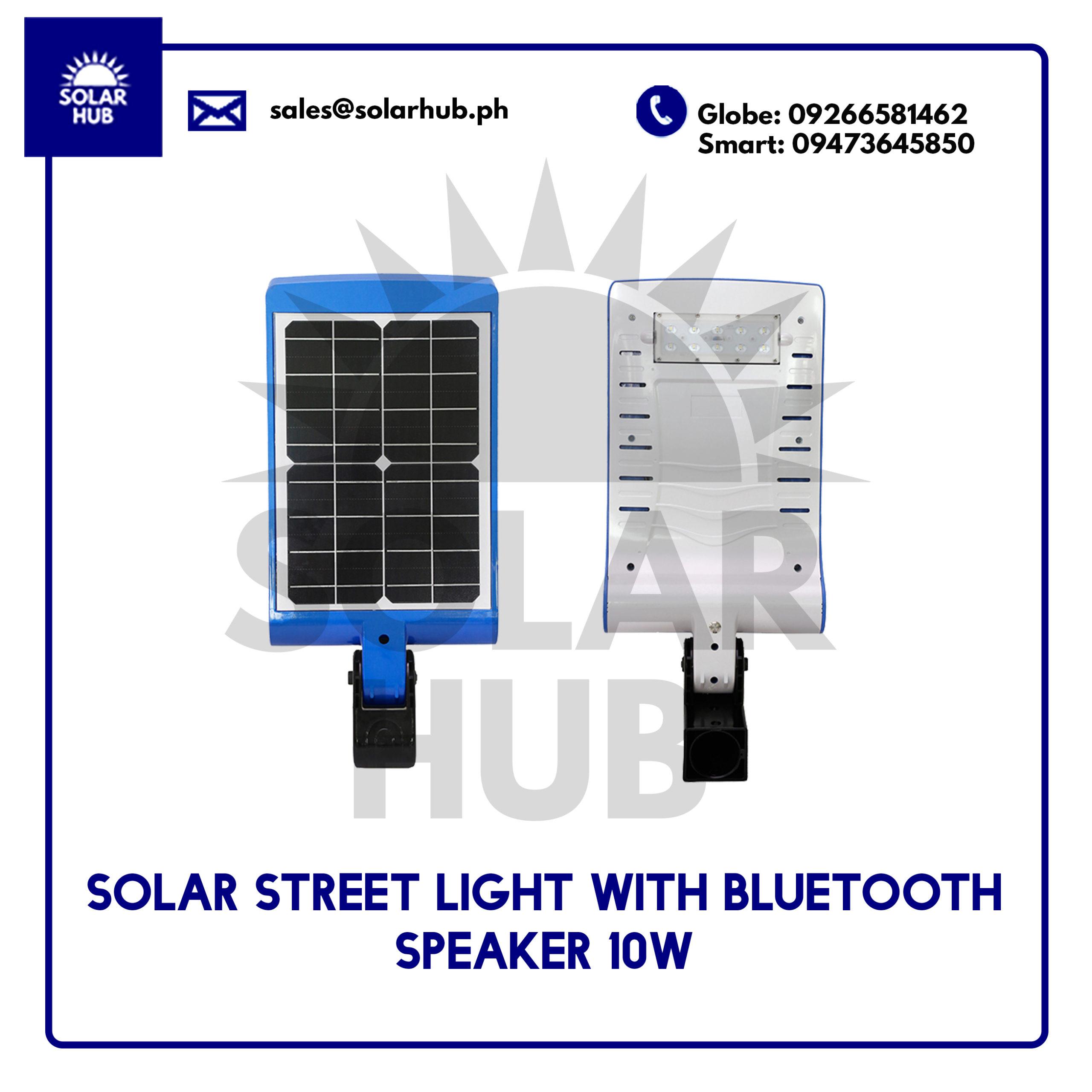 Solar Street Light With Bluetooth Speaker
