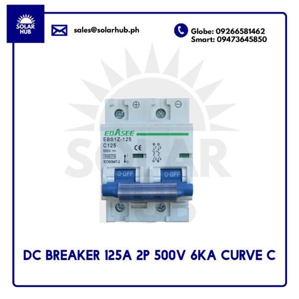 DC Circuit Breaker 125A
