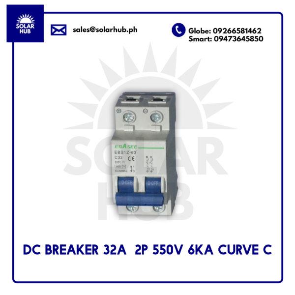 DC Circuit Breaker 32A