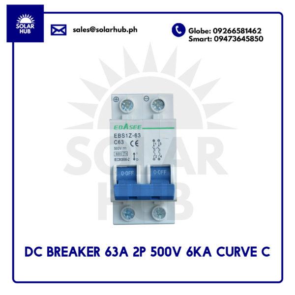 DC Circuit Breaker 63A