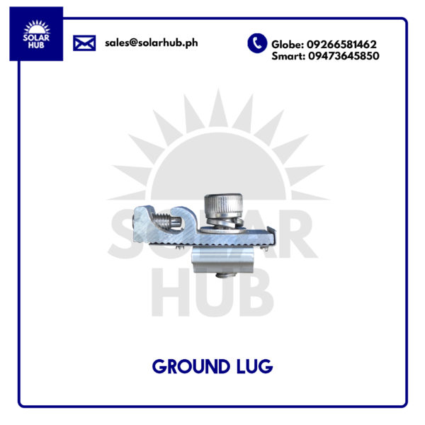 Ground Lug Mounting Structure Solar Panel Frame
