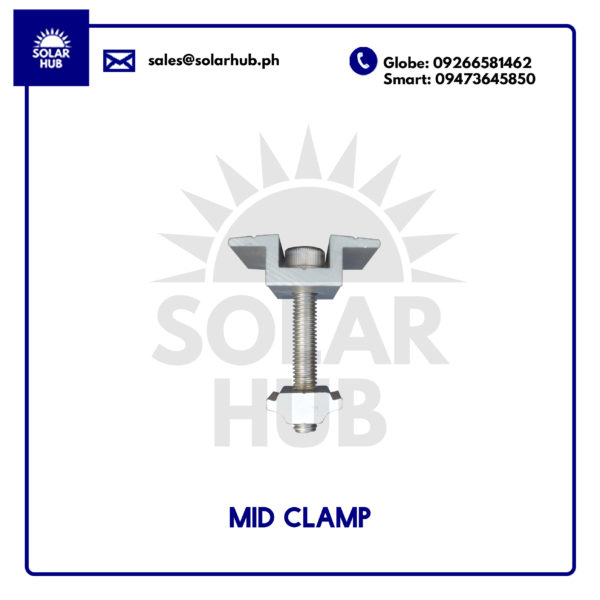 Goomax Mid Clamp Mounting Structure Solar Panel Frame