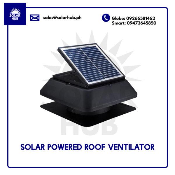 Solar Powered Roof Ventilator