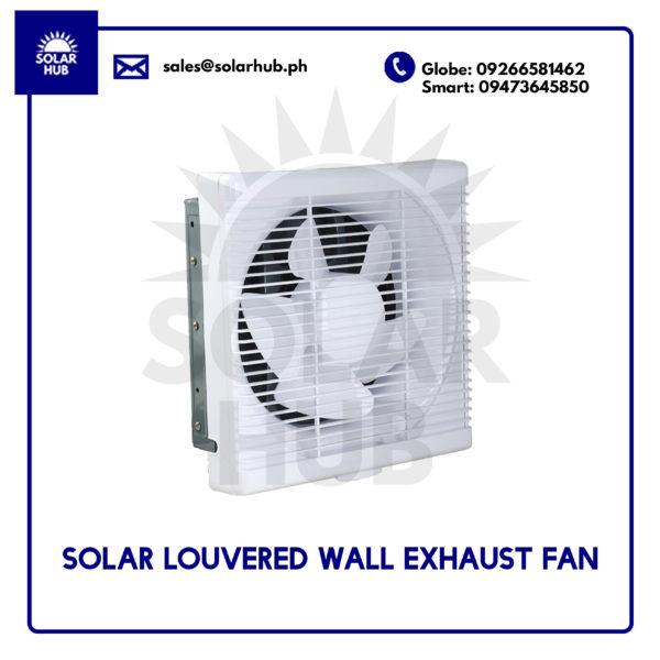 Solar Louvered Wall Exhaust Fan