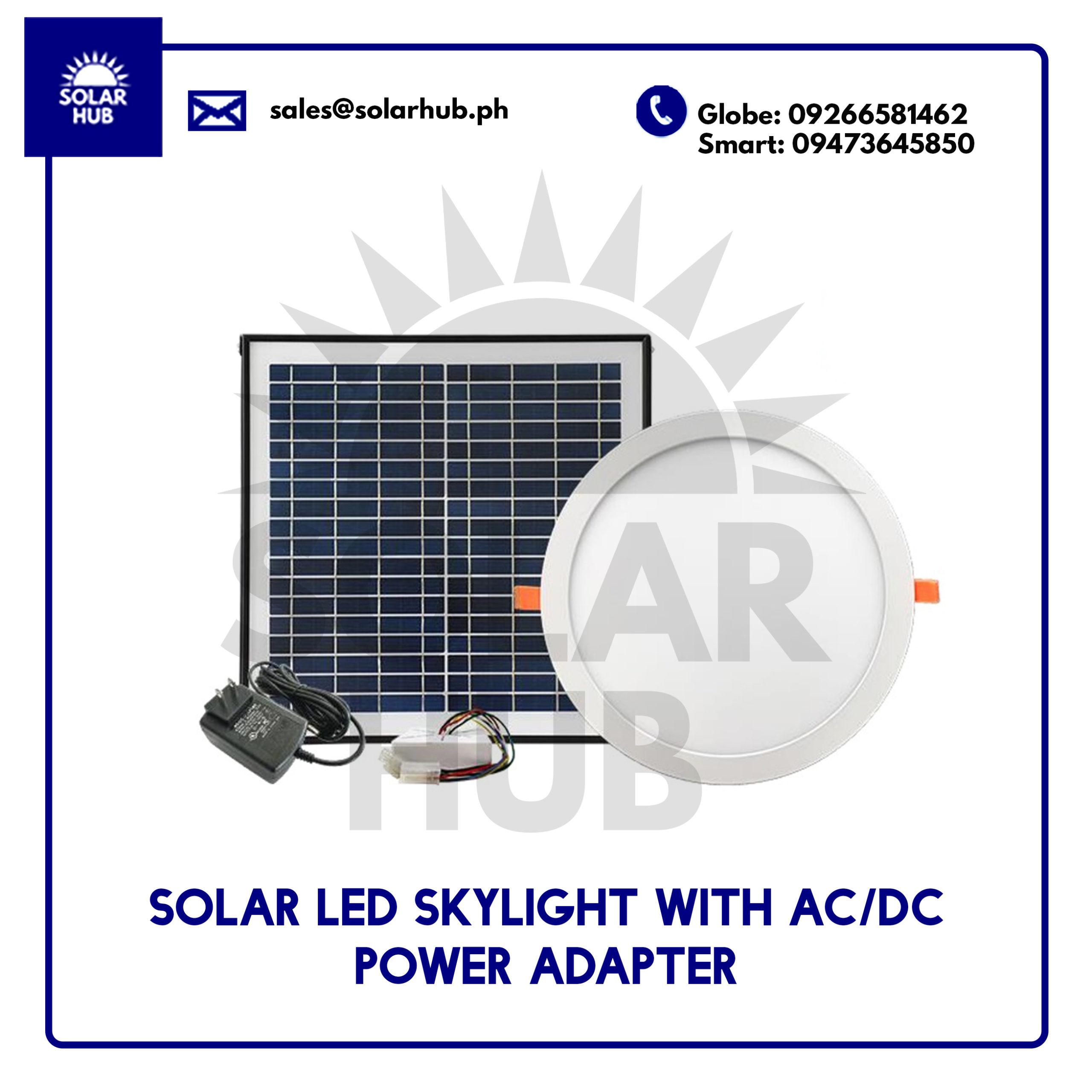 Solar LED Skylight Round Type