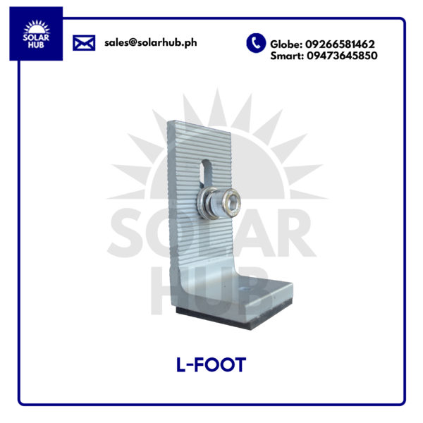 Goomax L-foot Mounting Structure Solar Panel Frame