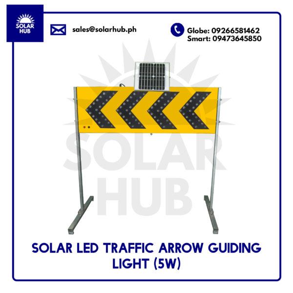 Solar Led Traffic Arrow Guiding Light