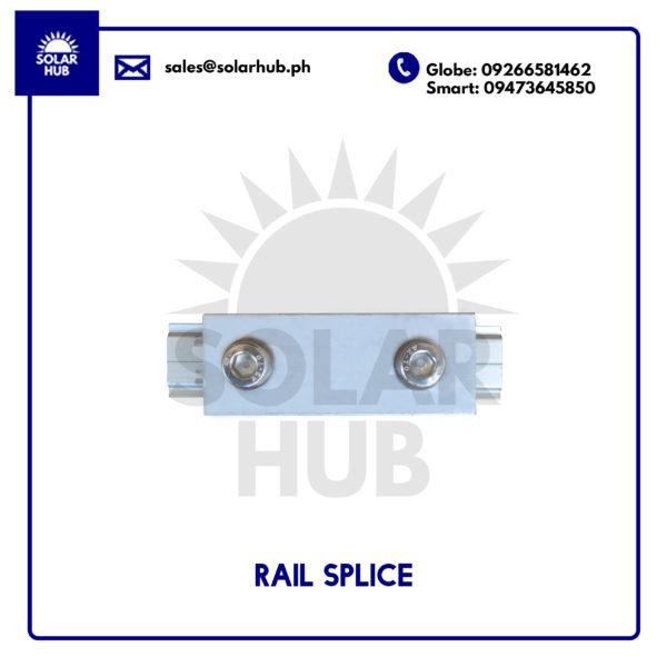 Goomax Rail Splice Mounting Structure Solar Panel Frame
