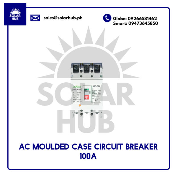 AC Molded Case Circuit Breaker 100A