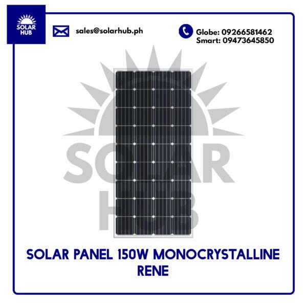 Solar Panel 150W Monocystalline