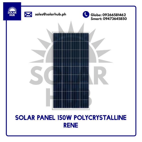 Solar Panel 150W Polycrystalline