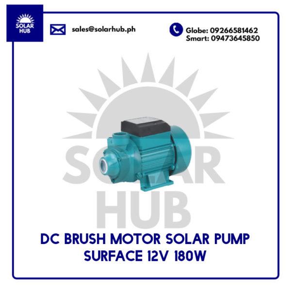 DC BUSH MOTOR SOLAR PUMP 12V 180W
