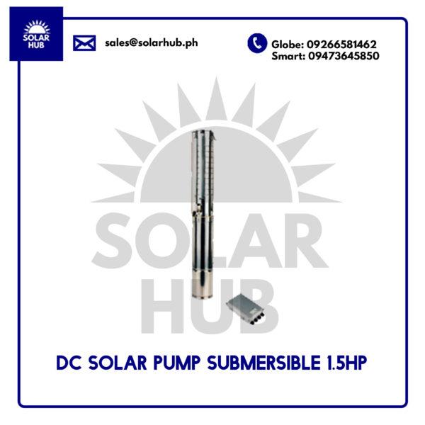 DC SOLAR PUMP 1.5HP