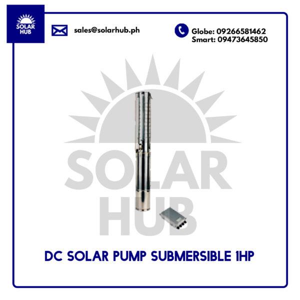DC SOLAR PUMP 1HP