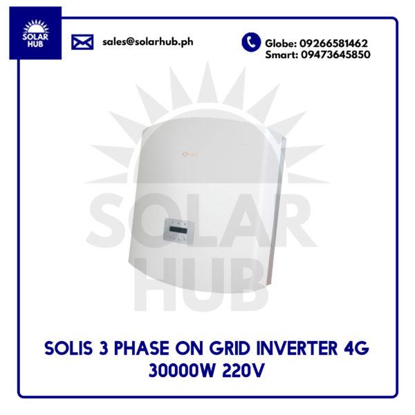 Solis 3 Phase On Grid Inverter 30000
