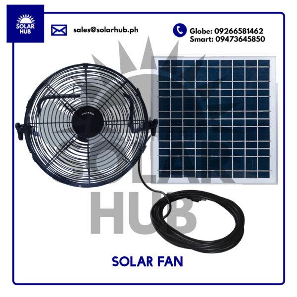 Solar Fan 10 Inch