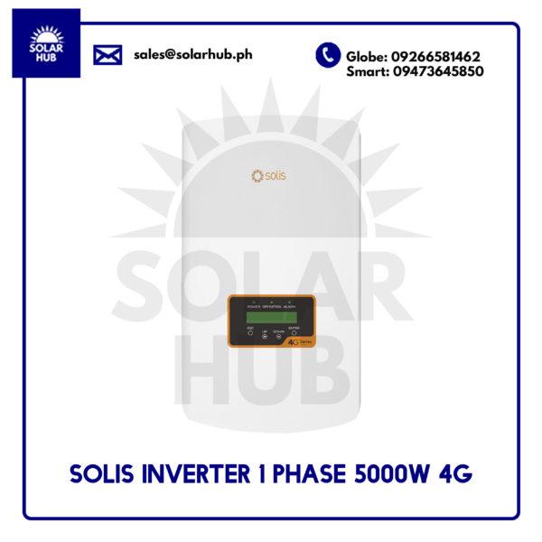 Solis Inverter 1 Phase 5000W 4G