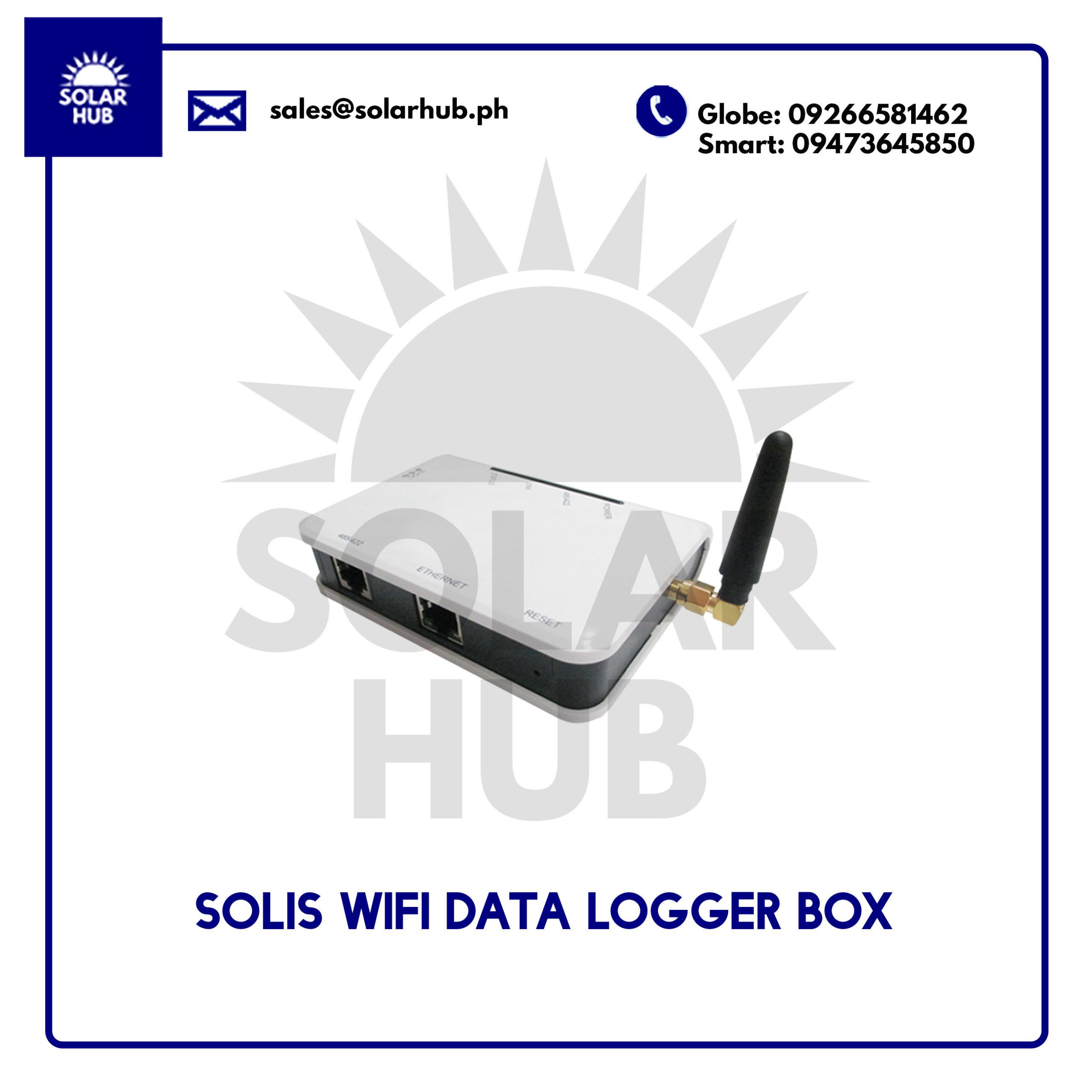 Solis Wifi Data Logger Box