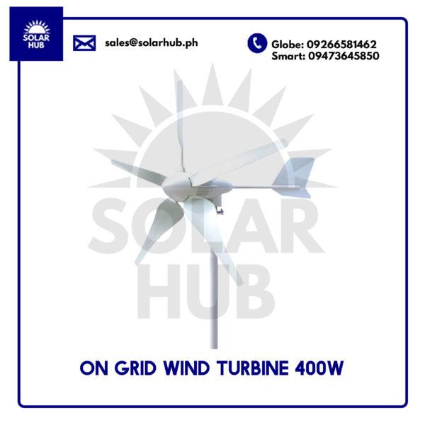 On Grid Wind Turbine