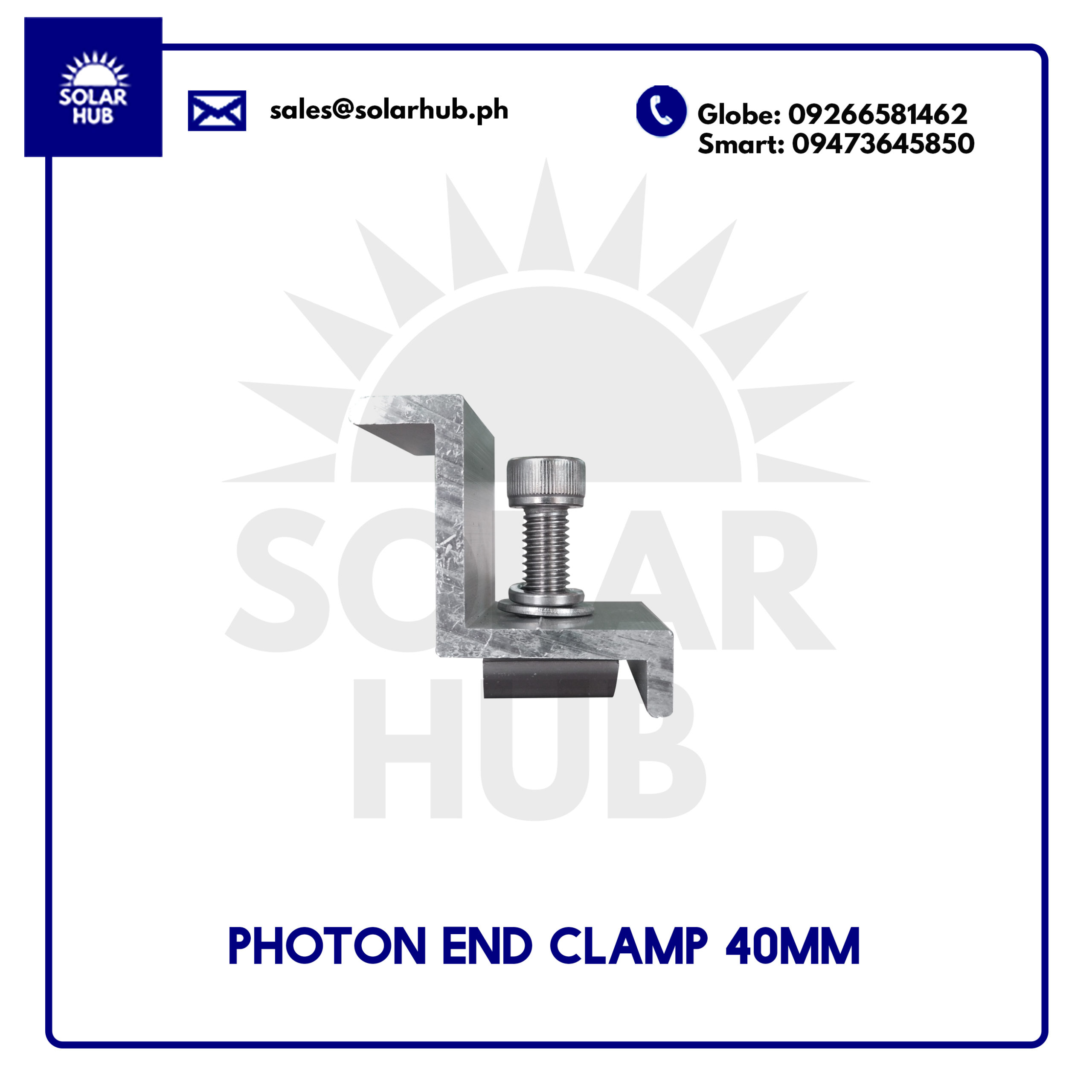 Photon End Clamp 40mm
