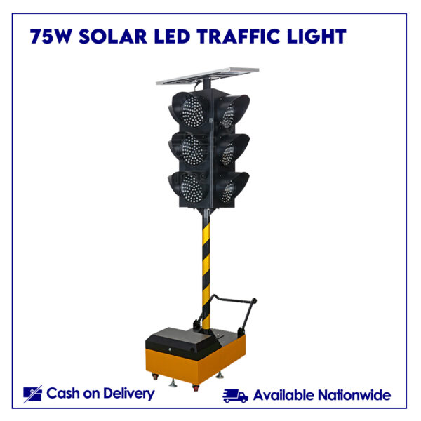 75w Solar LED Traffic Light